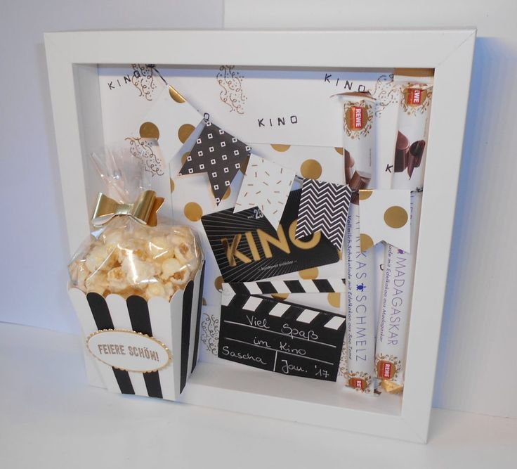 Photo of Have fun in the cinema! – Voucher with a difference | Little Stempelmiez – handicrafts for love