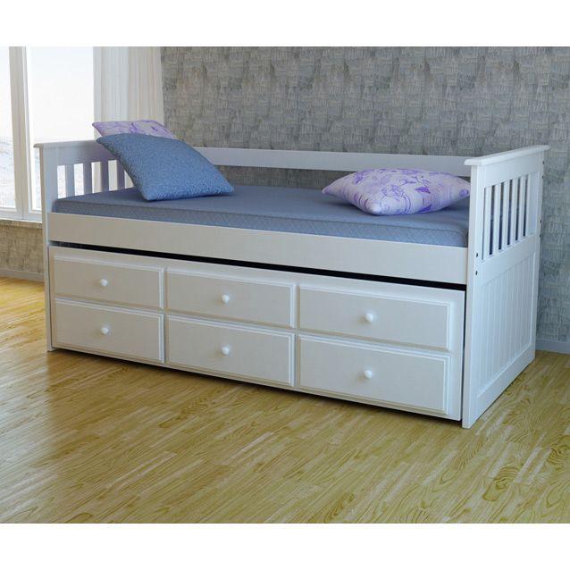 Bicama sof solteiro cama auxiliar com 3 gavetas em - Sofas cama infantiles ...