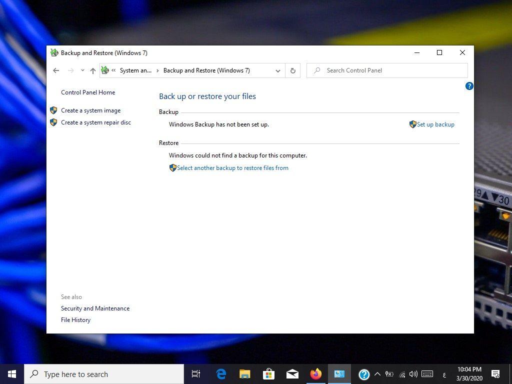 كيفية انشاء قرص اصلاح النظام في ويندوز 10 اصلاح مشاكل بدء التشغيل In 2020 Repair System Windows