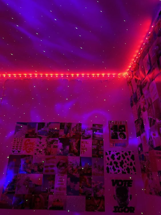 cozylady led strip lights in 2020 neon room room ideas bedroom dreamy room on cute lights for bedroom decorating ideas id=22546