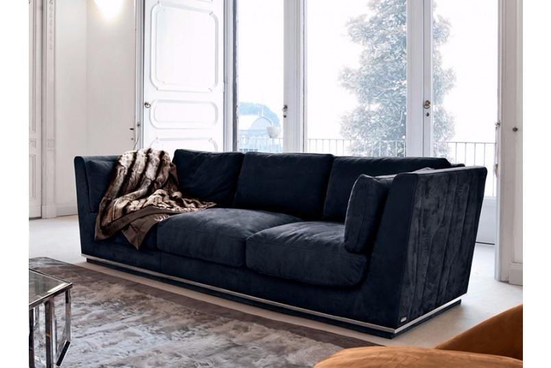 Best Elpis Velvet Sofa Fabric Sofa Blue Couch Living Room 640 x 480