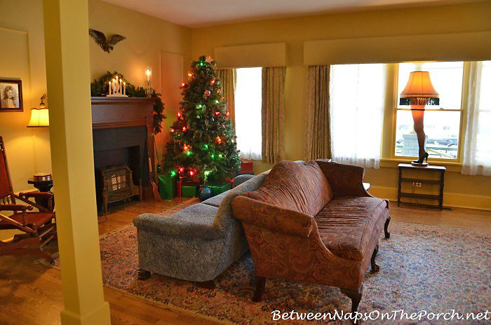 A Christmas Story House Part Iii The Living Room Christmas Story House A Christmas Story House