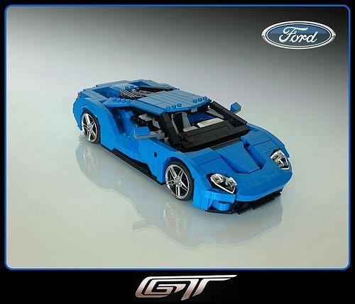 Lego Ford Gt By Firas Abu Jaber