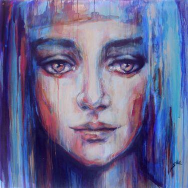 "Saatchi Art Artist Suhair Sibai; Painting, ""Syrian Mona-Lisa!"" #art"