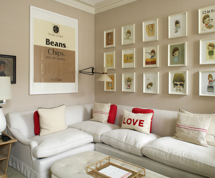 Suzie 1St Option  Fun Eclectic Family Room With Cafe Au Lait Delectable Fun Living Room Ideas Decorating Design