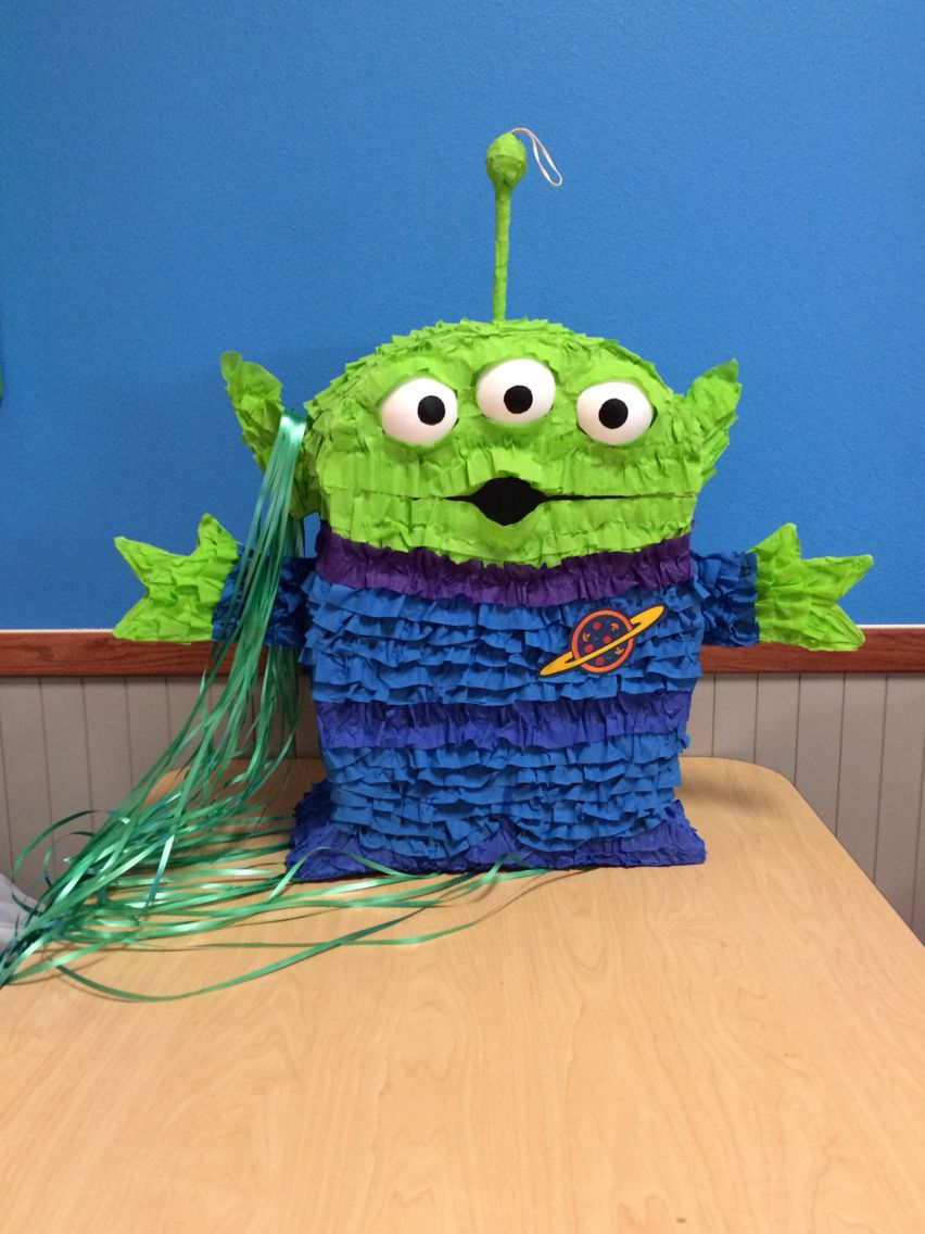 Toy Story Alien Pinata I Made For My Grandson S Fourth Birthday