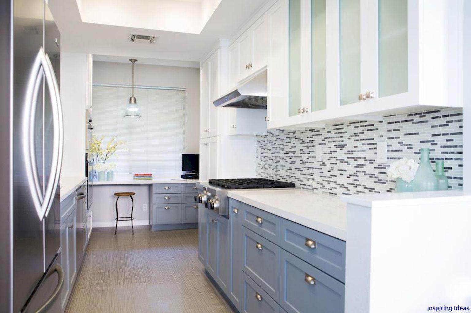 Cool stunning midcentury modern kitchen backsplash design ideas