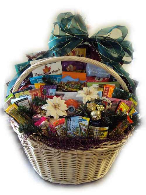 healthy corporate gift basket great holiday gift idea for the whole office