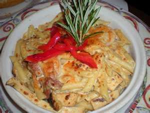 Penne Rustica @ Mac. Grille is the bomb!
