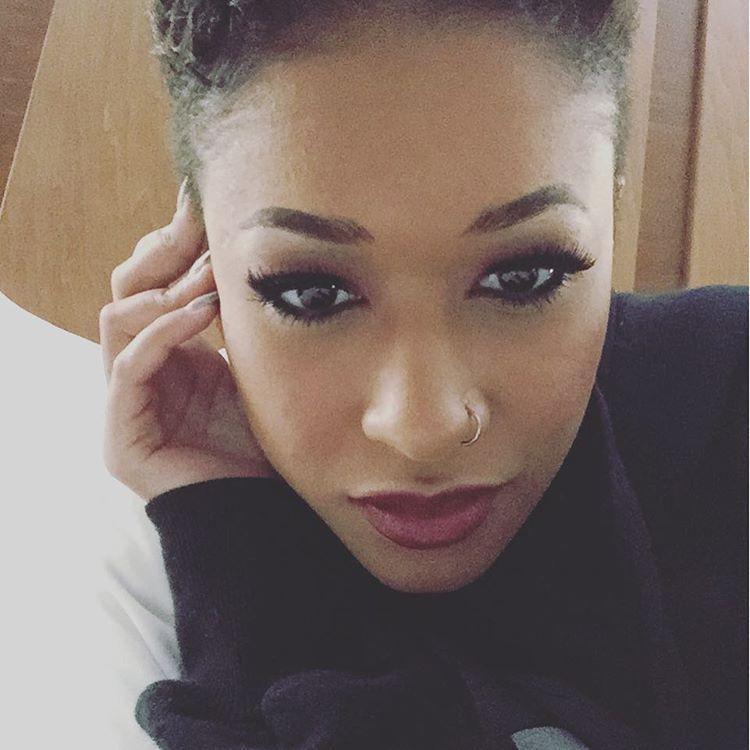 Skinny black girl creampie