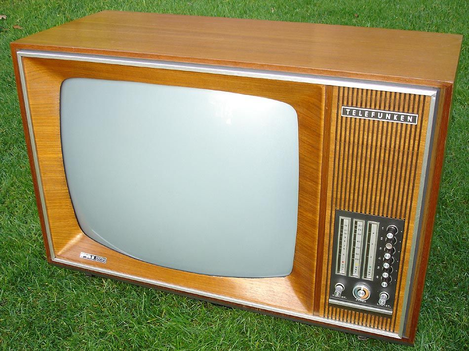Telefunken Pal Color My Memory Best Memories Tv Console