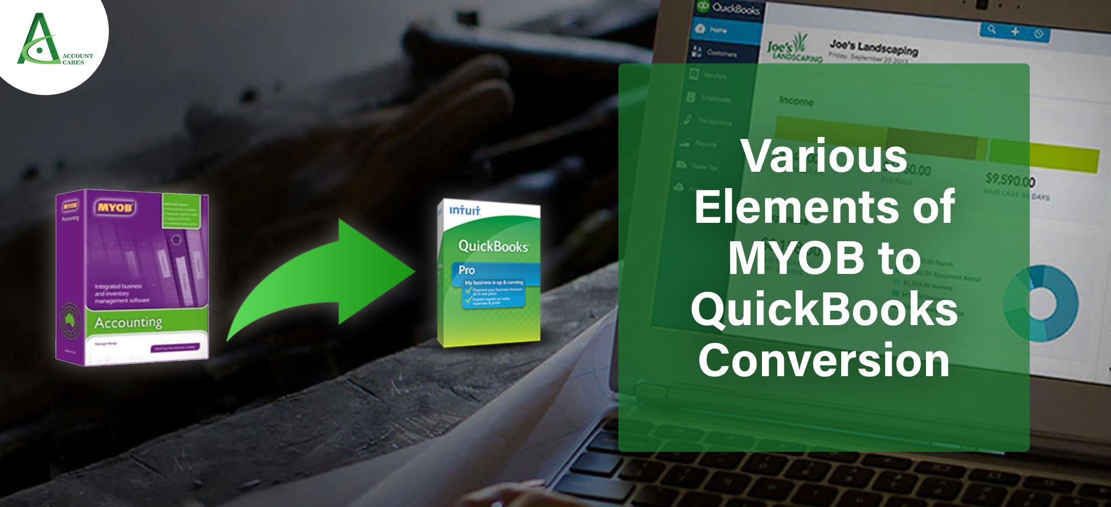 Various Elements Of Myob To Quickbooks Conversion Quickbooks