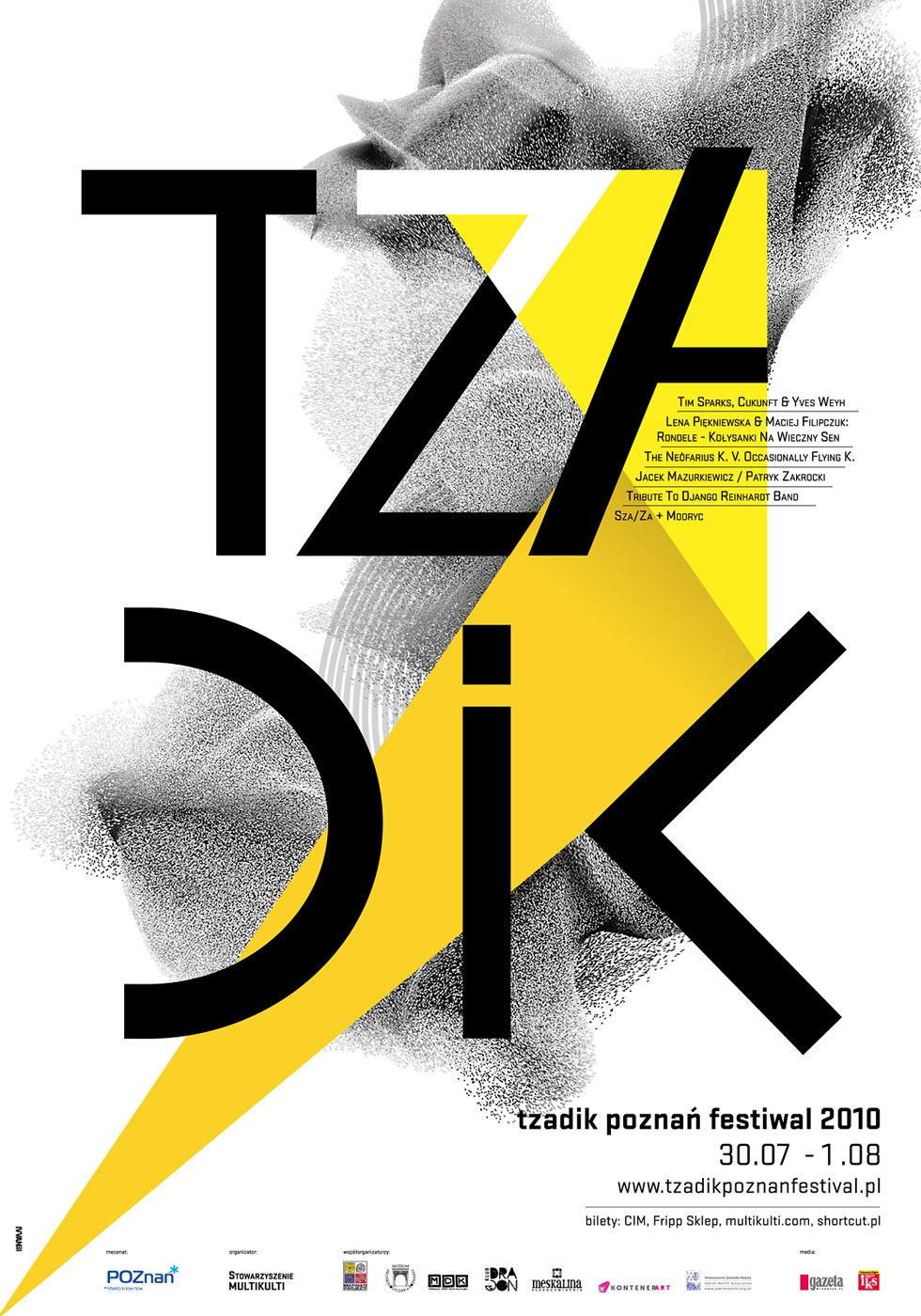 Krzysztof Iwański involved in poster art and screen printing. The artist's works are spontaneity and dynamism linked with striving for harmony and orderliness. He oscillates between stylistics deriving from Neo-Plasticism, Constructivism As for the form, the artist, similarly to other constructivists, distances himself from realistic presentation in favour of more abstract, geometric, minimized forms which carry the spirit of modernity in a better way. qki@ivvanski.com www.ivvanski.com