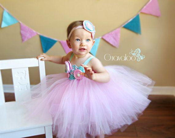 7d2a53ee135 Pink Aqua Tutu Dress