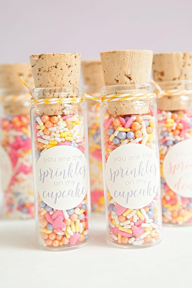 Best Diy Sprinkle Party Favors Ever Doorgift Pinterest Favors