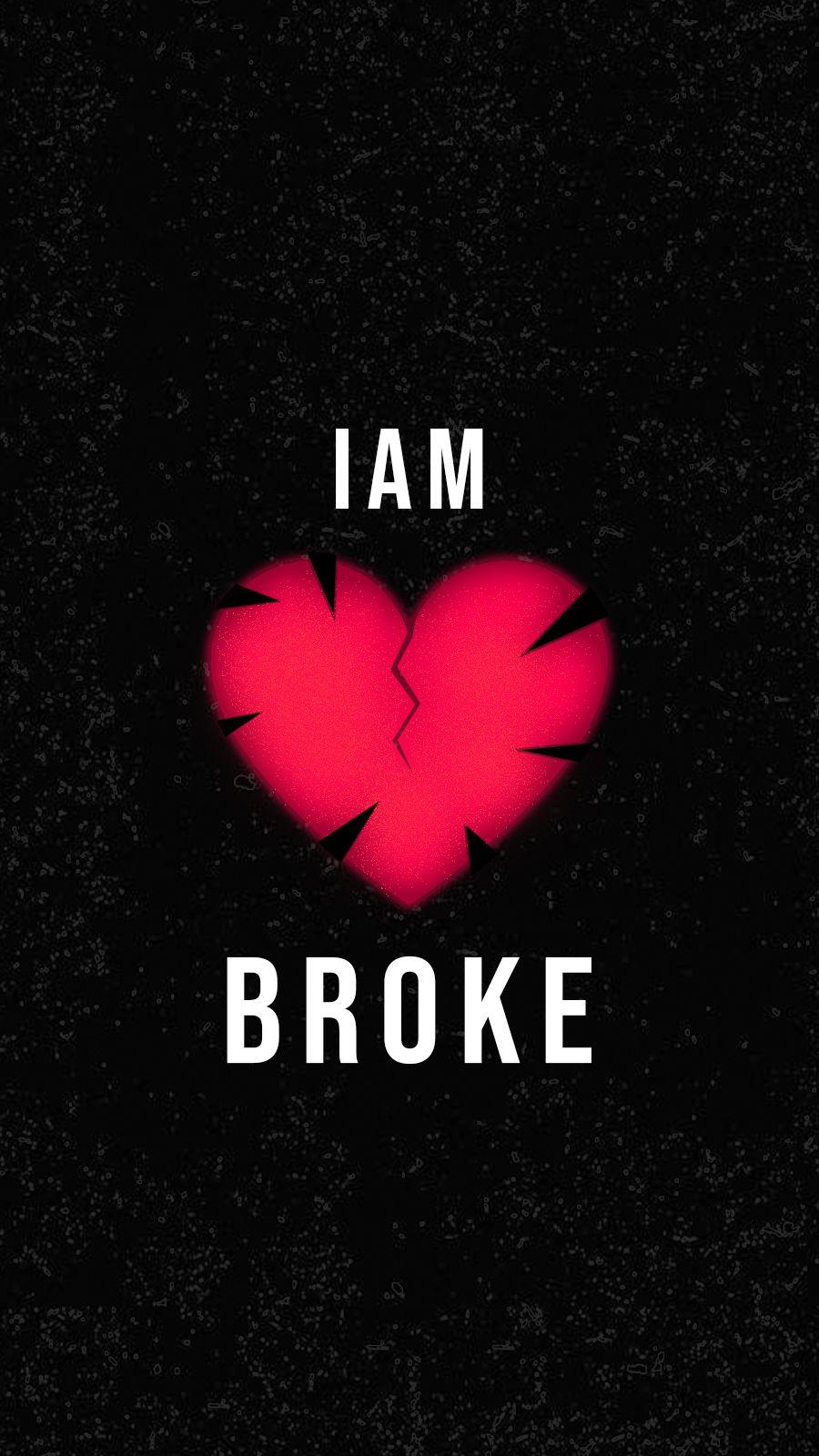 I M Broken Wallpaper Heart Wallpaper Love Wallpaper Wallpaper