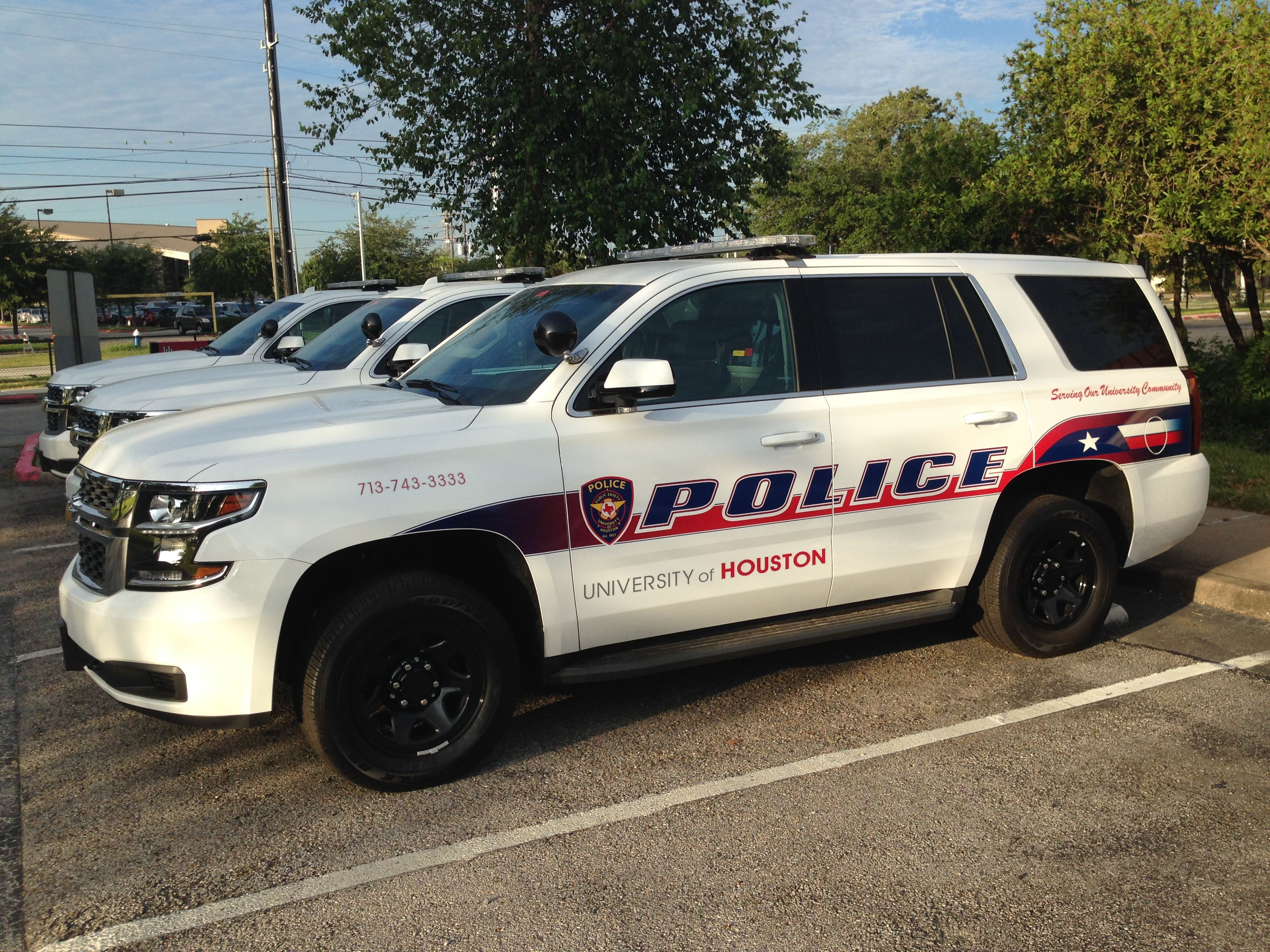 University Of Houston Police Department Chevy Tahoe Houston Police Houston Police Department Police Cars