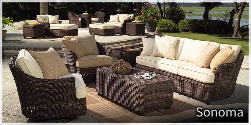 trees and trends patio furniture dreamcoast woodard sonoma outdoor furniture sold at trees trends or wwwtreesntrendscom www