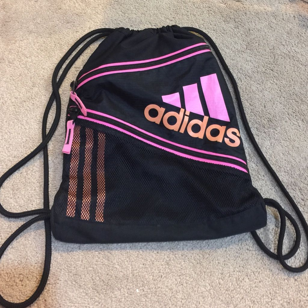 c0c674fe6e8 ... entire collection c9821 216ab Shop Women s Adidas Pink Black size OS  Backpacks at a discounted ...