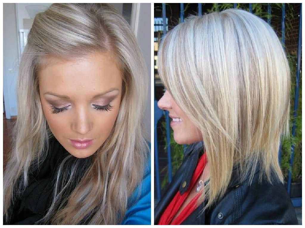 Black hair with bleach blonde highlights
