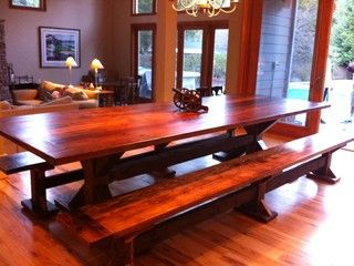 Dining Tables   Traditional   Dining Room   San Francisco   By Terra Amico Salvaged  Wood