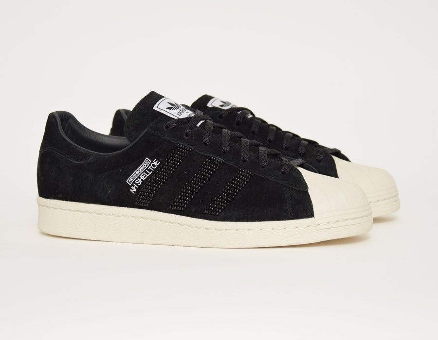 super populaire b27f6 58a56 adidas Superstar #Neighborhood Black #sneakers | Sneakers ...