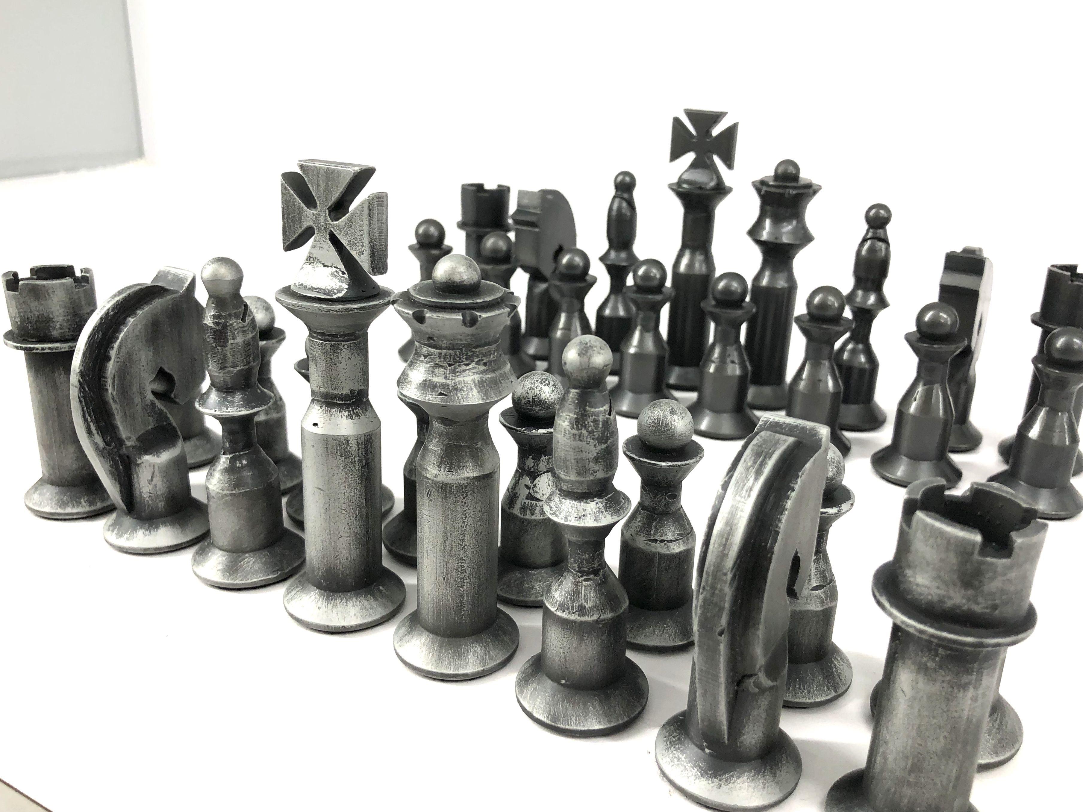 Hand made chess set | Hand made chess set | Chess, Handmade, Home decor