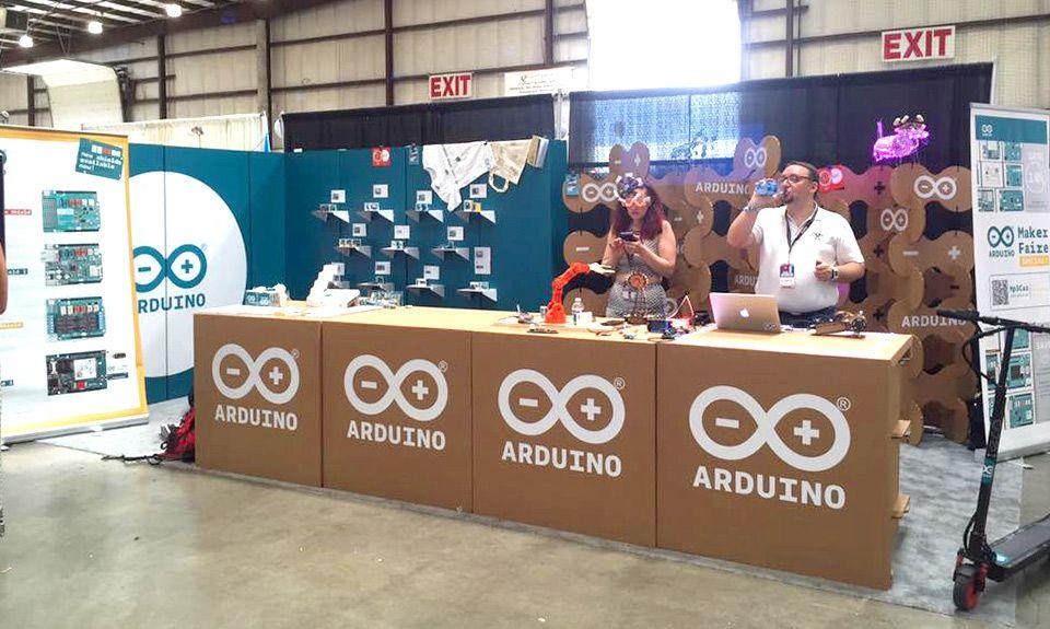 Stand Arduino En La Maker Faire De San Francisco Stands