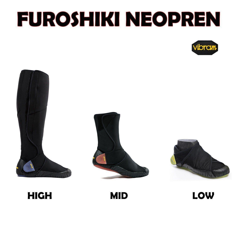 600b82bdbb Vibram FiveFingers Furoshiki original neoprene MID - Innovative neoprene  fold-up shoes boots