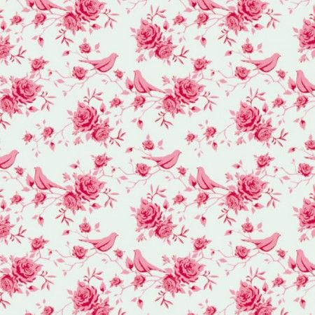 TILDA - Rosebird, mint