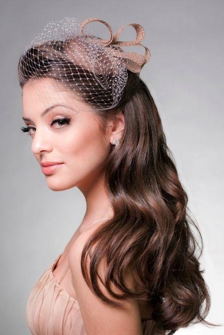 Penteado de Noiva Casquete, voilette ou fascinator? | Casar é um Barato