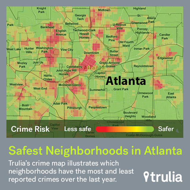Atlanta S Safest Neighborhoods
