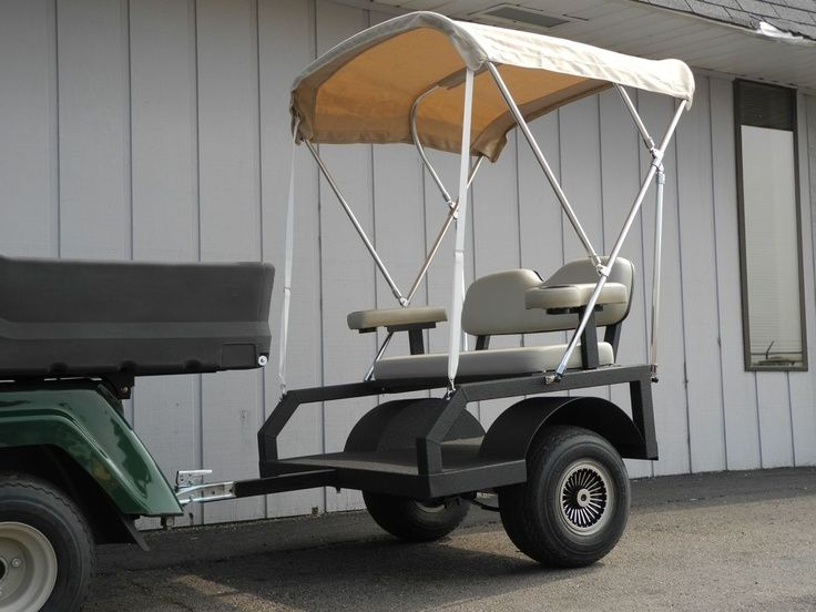diy passenger trailer for utv - Google Search | UTV | Pinterest | Passengers trailer, Golf carts ...
