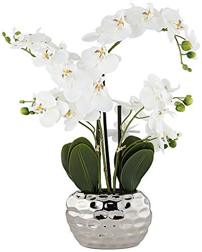 Hotel Led Decorative Potted Plant Fake Phalaenopsis Outdoor Office Home Bedroom Solar Light Garden Flower Indoor Energy Saving Led Table Lamps