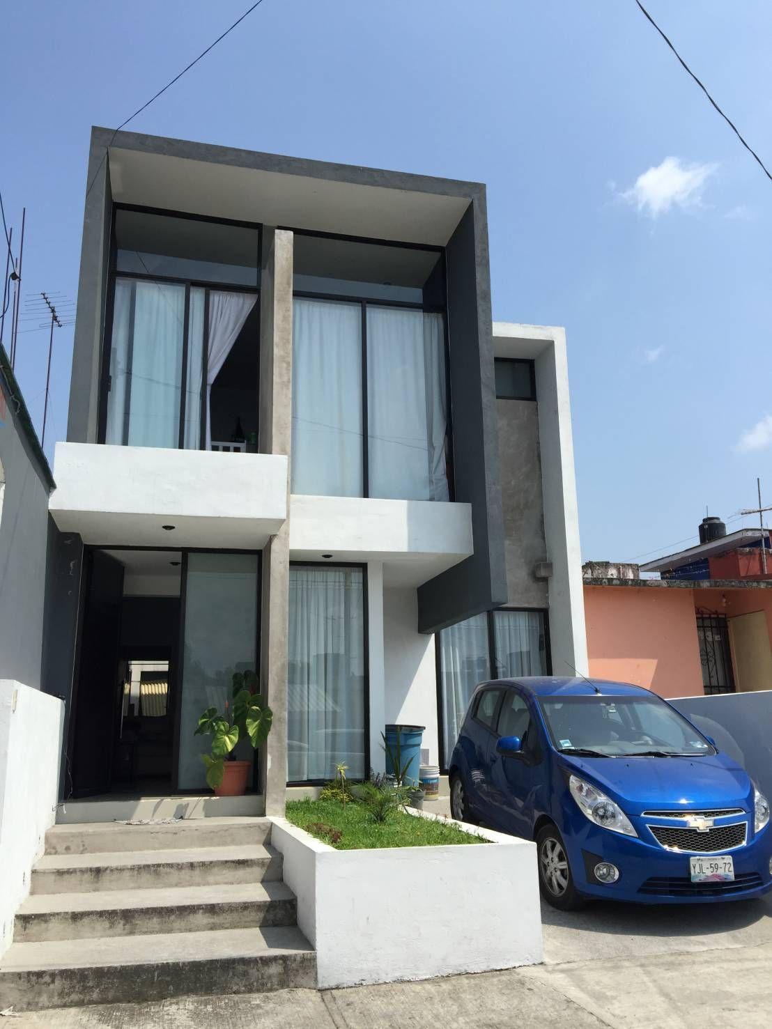 Antes y despu s de 5 fachadas 5 transformaciones - Arquitectos casas modernas ...