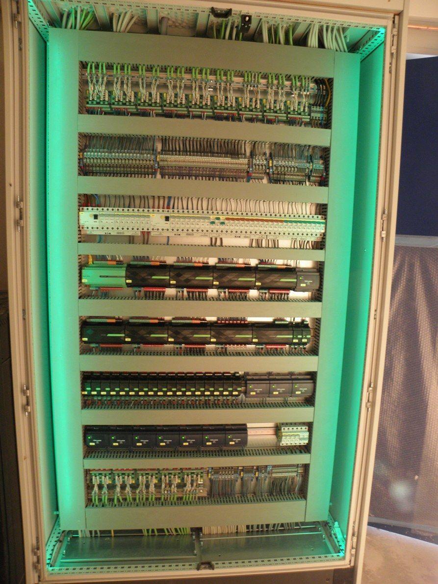 Fotos Von Verteilern Schaltschranken 19 Zoll Verteilern Loxforum Com Schaltschranke Elektroverkabelung Automatisierungstechnik