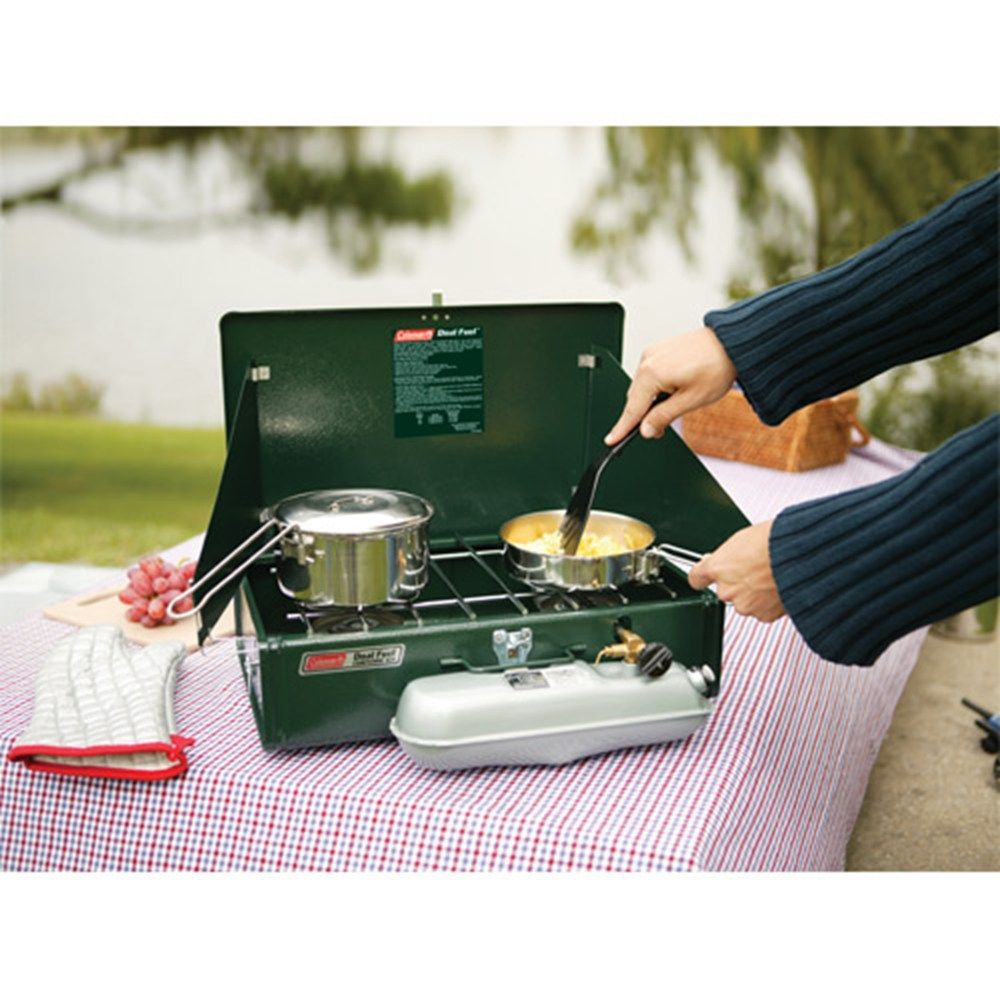 We think this two-burner stove is a camping essential ...