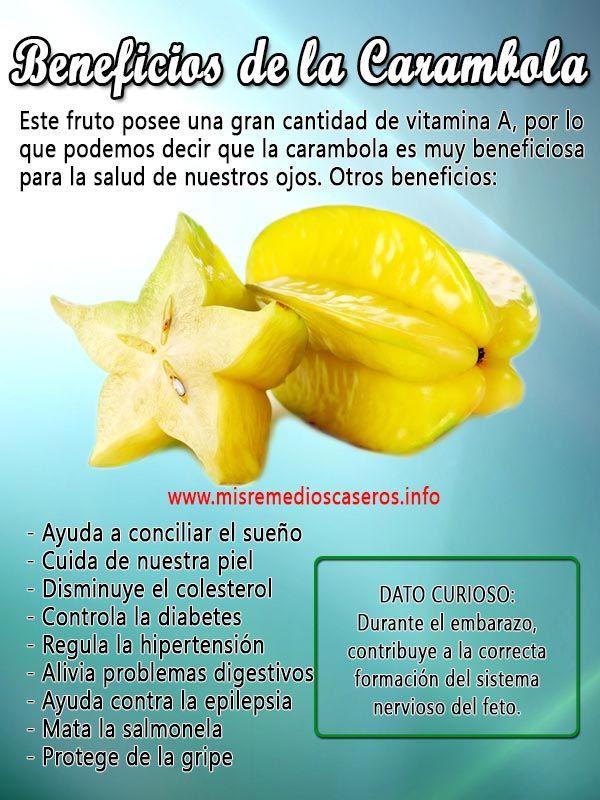 Beneficios de la carambola | Beneficios de... | Frutas y