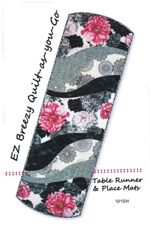Placemat & Table Runner Pattern - Tiger Lily Press - Easy Breezy ... : easy breezy quilt pattern - Adamdwight.com