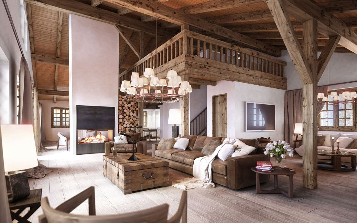 Modern Rustic Interior Design & Rustic Interior Design Styles | Rustic Spaces | Home Decor Modern ...