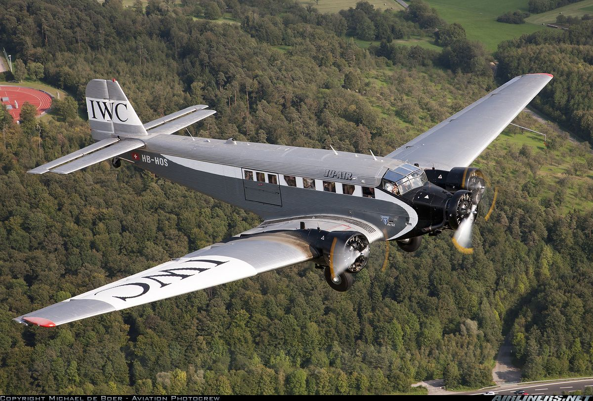 Junkers Ju-52/3mg4e aircraft picture