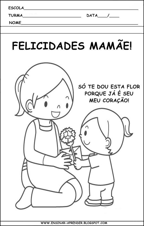Resultado De Imagem Para Atividades Dia Das Maes Maternal