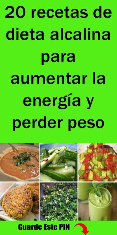 recetas dieta alcalina