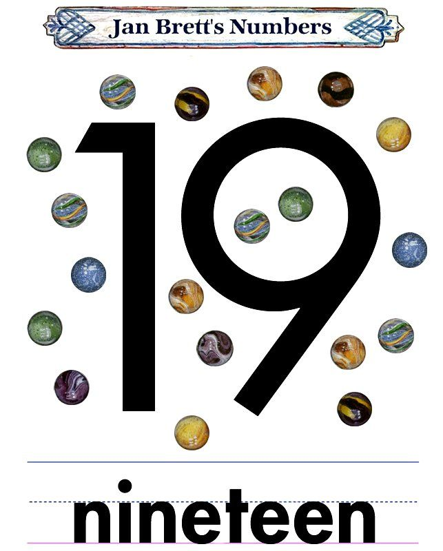 images of number 19   Number 19   NUMBERS   Number 19 ...