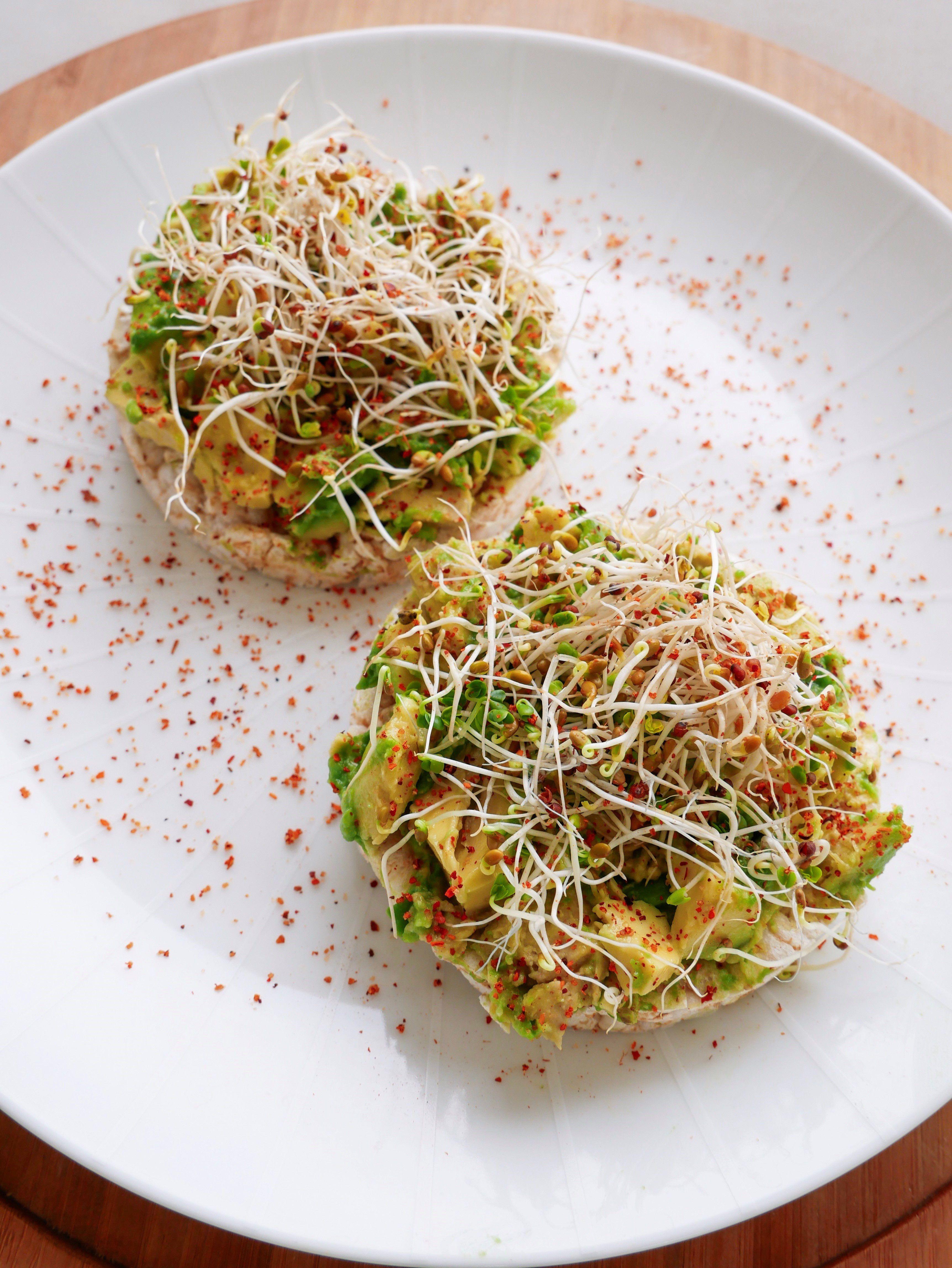 Avocado rice cakes avocado rice rice cakes avocado