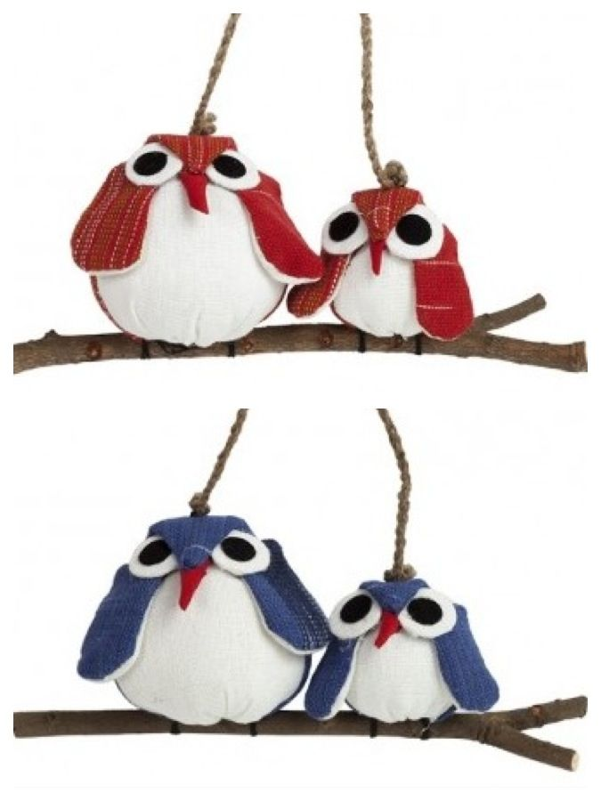 Owl Christmas ornaments @Carmen Schaffer Vida Worldly Art!