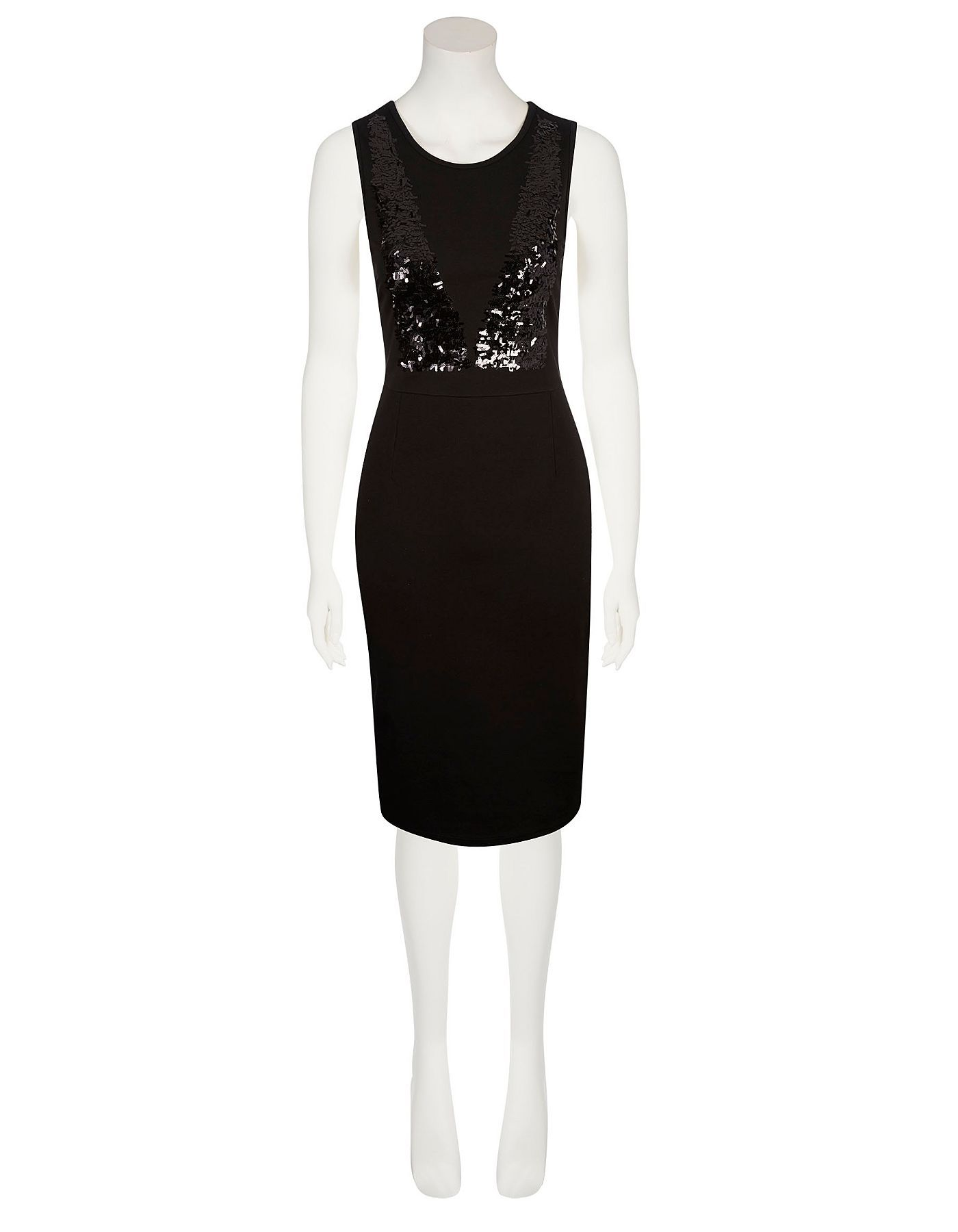 Moda Sequin Bodycon Dress Women George At Asda O My Plus Size