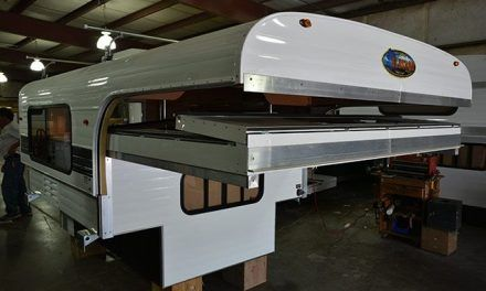 Semi Truck Aluminum Camper Car Hauler Camper Wiz In 2020 Pop