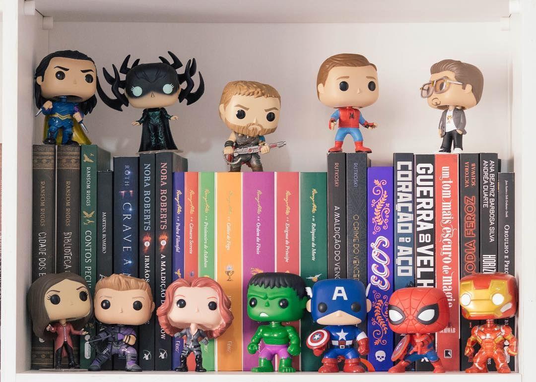 Avengers Vingadores Estante De Livros Bookshelf Vingadores