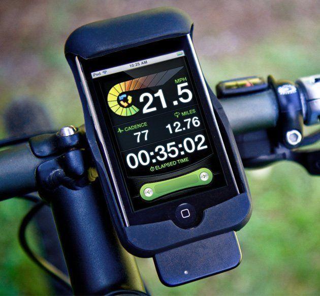 Liverider Biking Computer Iphone Gadgets Iphone Bike Mount